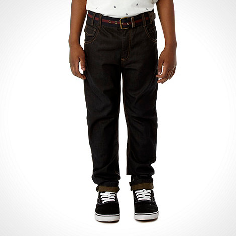 J by Jasper Conran - Designer boys+ blue smart coated skinny jeans