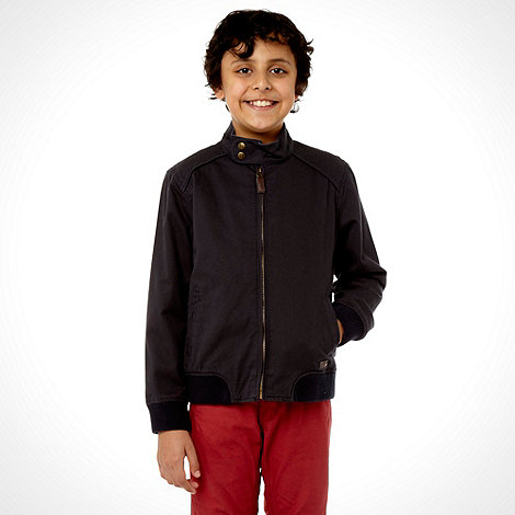 J by Jasper Conran - Boy's navy 'Harrington' jacket
