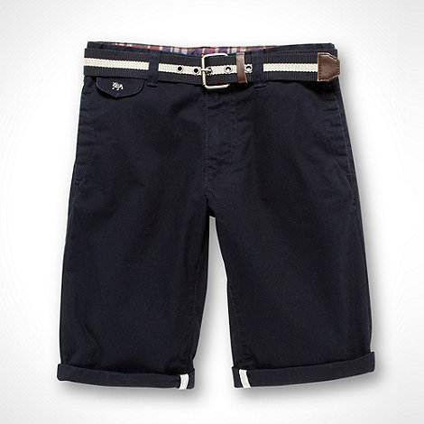 J by Jasper Conran - Designer boy+s navy chino shorts