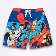 Boy's blue DC comic hero swim shorts