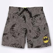 Boy's dark grey 'Batman' swim shorts