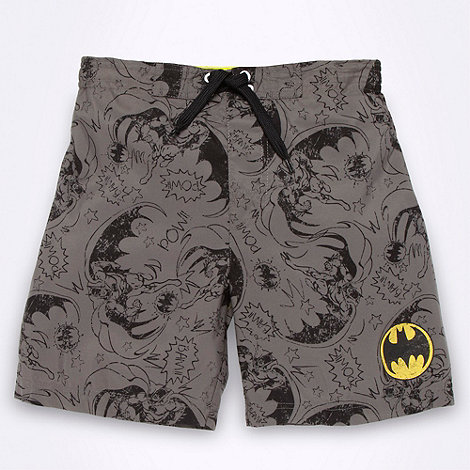 Batman - Boy+s dark grey +Batman+ swim shorts