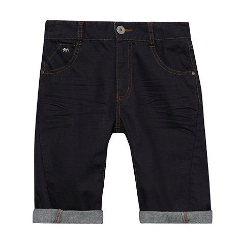 J by Jasper Conran - Designer boy+s navy denim shorts