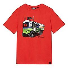 Animal - Boys' red 'surfari' print t-shirt