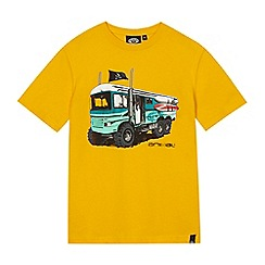 Animal - Boys' yellow 'safari' print t-shirt