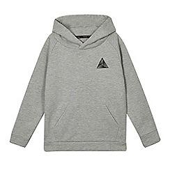 bluezoo - Boys' grey bluezoo logo hoodie