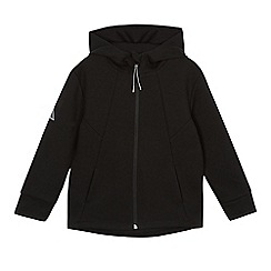 bluezoo - Boys' black zip through hoodie