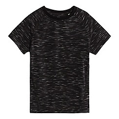 bluezoo - Boys' black space dye t-shirt