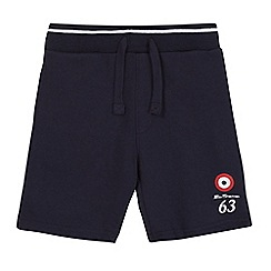 Ben Sherman - Boys' navy jersey shorts