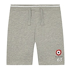 Ben Sherman - Boys' grey jersey shorts