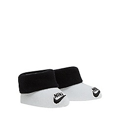 Nike - Pack of two baby boys' black and white bootie set