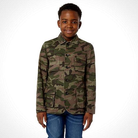 RJR.John Rocha - Boy+s khaki camo jacket