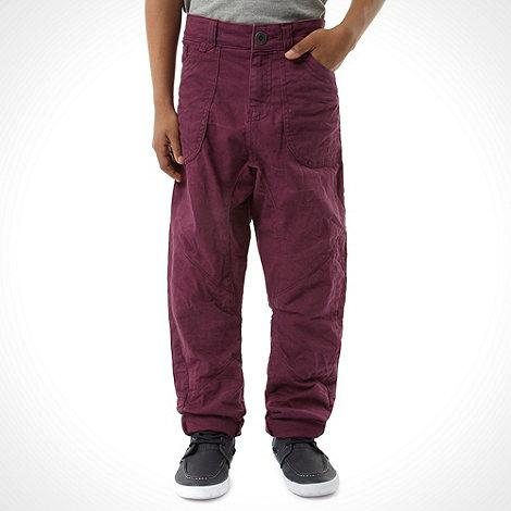 RJR.John Rocha - Designer boy+s purple jeans