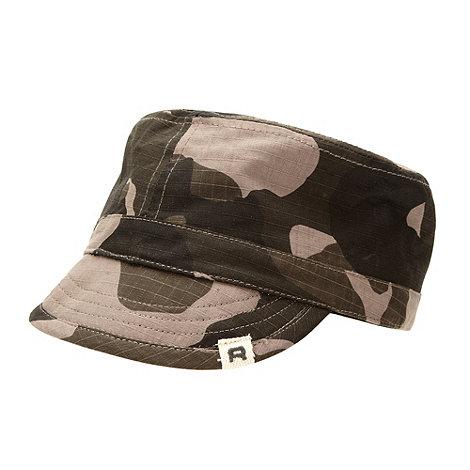 RJR.John Rocha - Designer boy+s khaki camouflage train driver hat