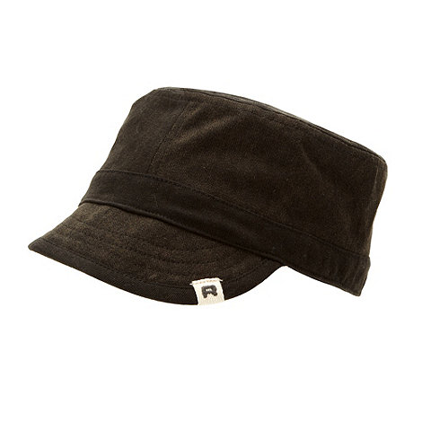 RJR.John Rocha - Designer boy+s near black train driver hat