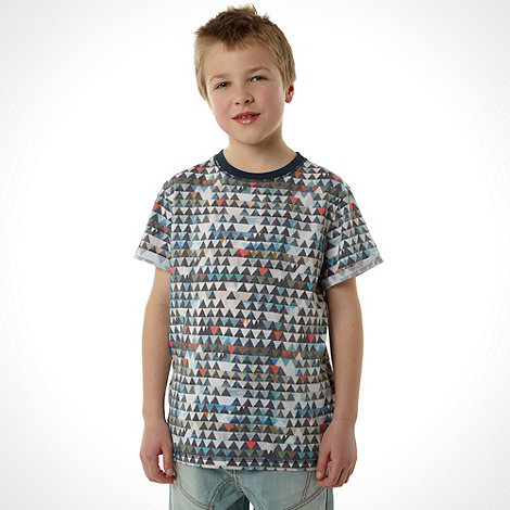 RJR.John Rocha - Designer boy+s black triangle t-shirt