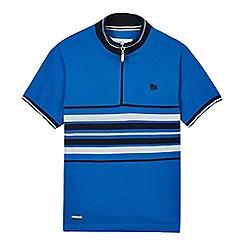 J by Jasper Conran - Boys' blue tunnel neck polo shirt