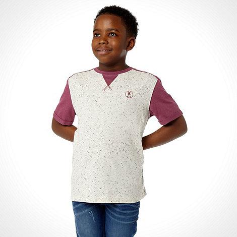 RJR.John Rocha - Boy+s pink raglan sleeve t-shirt
