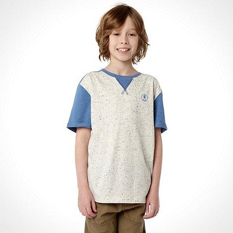 RJR.John Rocha - Boy+s blue raglan sleeve t-shirt