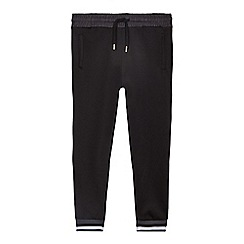 bluezoo - Boys' black trico jogging bottoms