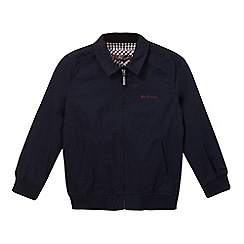 Ben Sherman - Boys' navy Harrington jacket