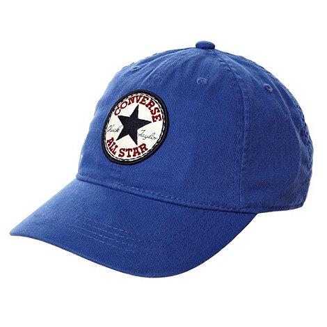 Converse - Boy+s bright blue +Chuck Taylor+ cap