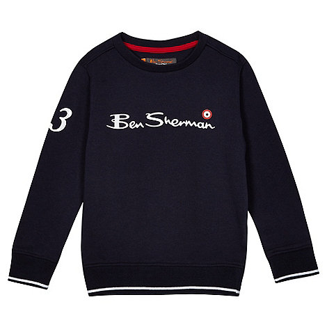 Converse - Boy+s navy  polo shirt