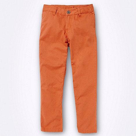 Ben Sherman - Boy+s orange five pocket chinos