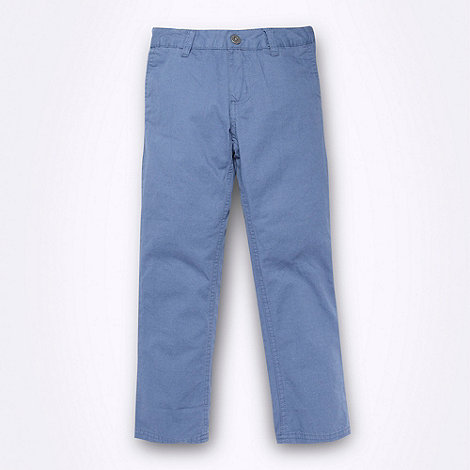Ben Sherman - Boy's navy five pocket chinos