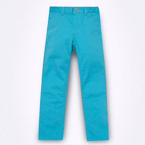 Ben Sherman - Boy+s bright blue chinos