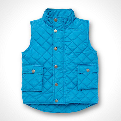 Ben Sherman - Boy+s blue quilted gilet