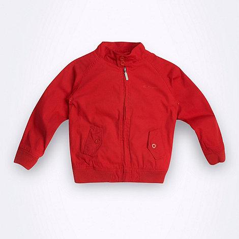 Ben Sherman - Boy+s red lightweight jacket