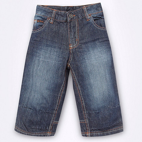 Ben Sherman - Boy+s blue denim shorts