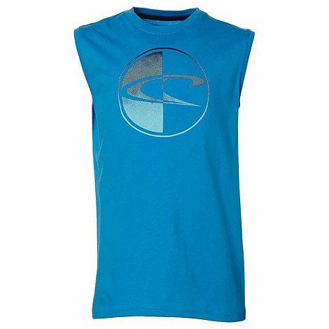 O+Neill - Boy+s light blue logo tank top