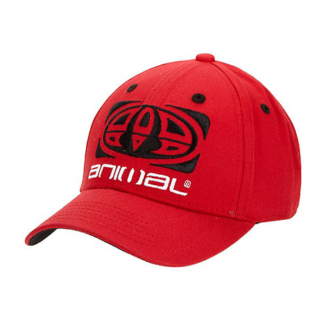 Animal - Red logo baseball cap