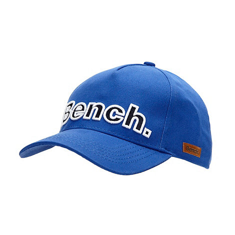 Bench - Boy+s blue logo baseball cap