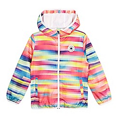 Converse - Girls' multi-coloured striped jacket