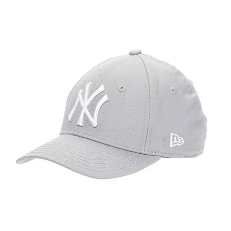 New Era - Grey +NY Yankees+ design baseball cap