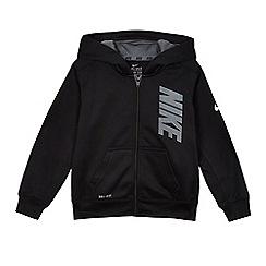 Nike - Boys' black 'Therma' hoodie