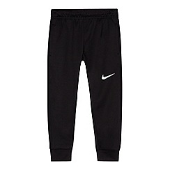 Nike - Boys' black logo jogging bottoms