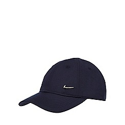Nike - Boys' navy logo badge cap