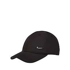 Nike - Boys' black logo badge cap