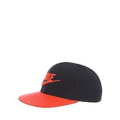 Nike - Boys' black logo embroidered cap