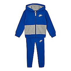 Nike - Boys' grey and blue jogging set