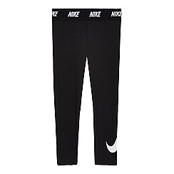 Nike - Girls' black 'Dri-fit' leggings