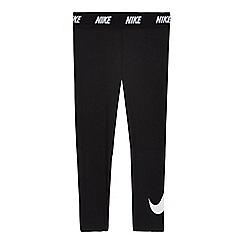 Nike - Girls' black 'Dri-fit' leggings
