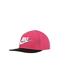 Nike - Girls' pink logo embroidered cap