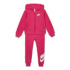 Nike - Girls' pink hoodie and jogger suit set