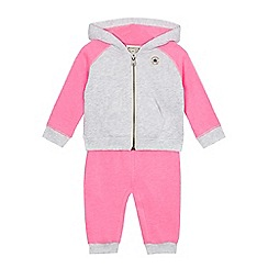Converse - Baby boys' grey and pink set