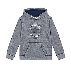 Converse - Boys' grey 'Converse' hoodie